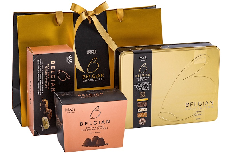 M&S Belgian Gift Bag AED 169