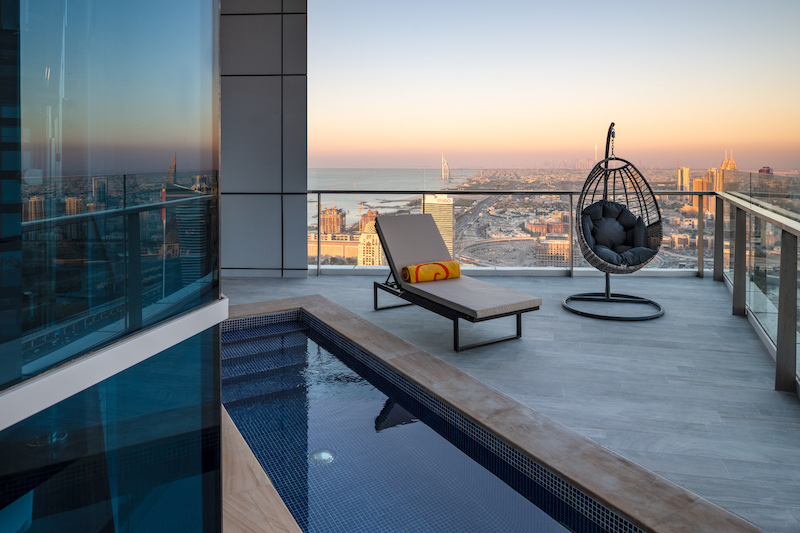 bnbme penthouse with private pool1