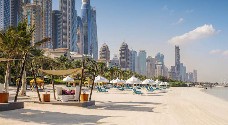 best beachfront restaurants dubai