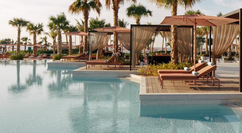 Caesars Palace Bluewaters Dubai Neptune Pool Cabanas