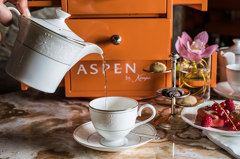 Kempinski Aspen afternoon tea