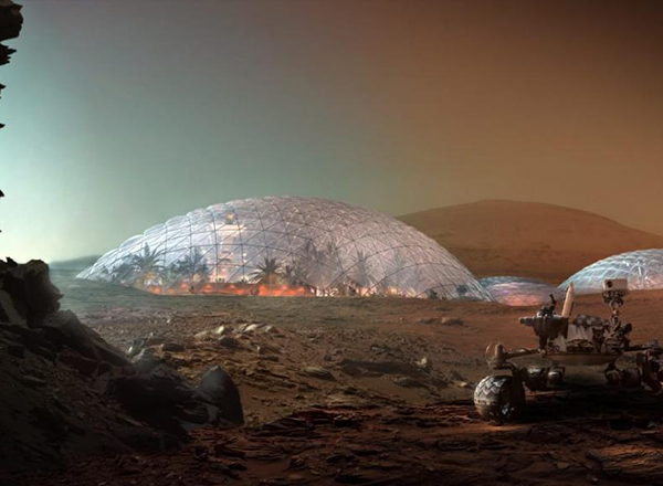 Mars Science City Project