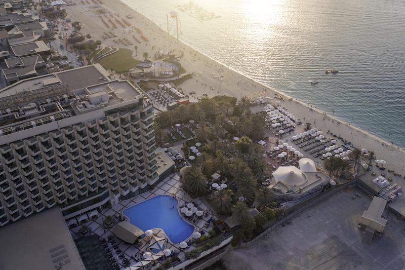 Hilton JBR pool 3