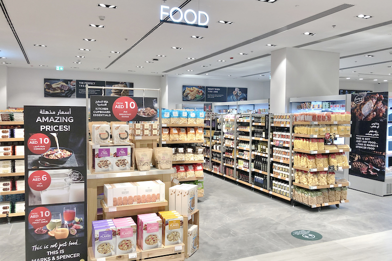 Marks & Spencer Dubai Mall Store Food Hall