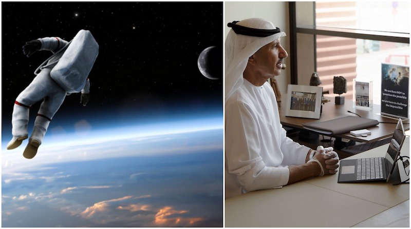 Abu Dhabi Posts, UAE Space Agency, Emirates Mars Mission
