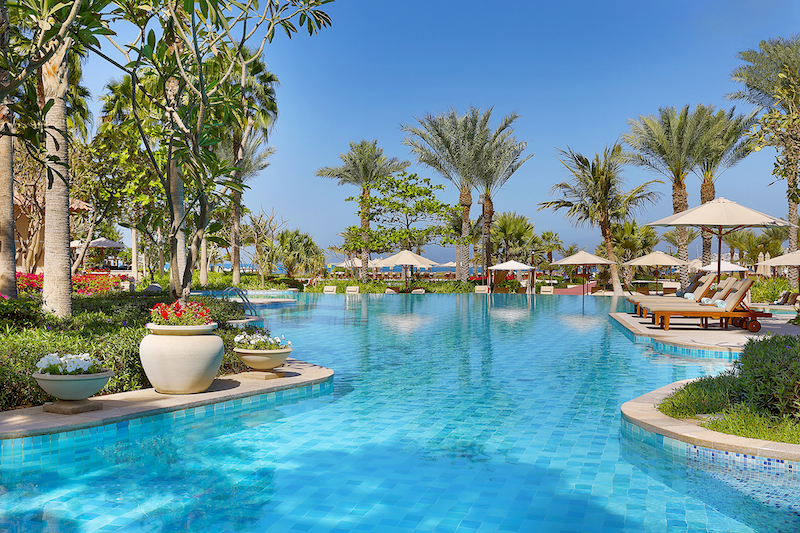The Ritz-Carlton, Dubai, JBR - Pool Detail