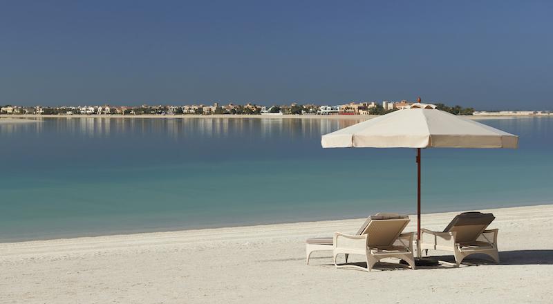 Waldorf Astoria Dubai May 2014 Beach 2