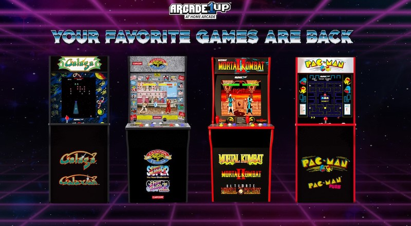 home arcade games uae dubai abu dhabi, owning arcade games uae, street fighter 2 uae, pac man uae, TMNT UAE