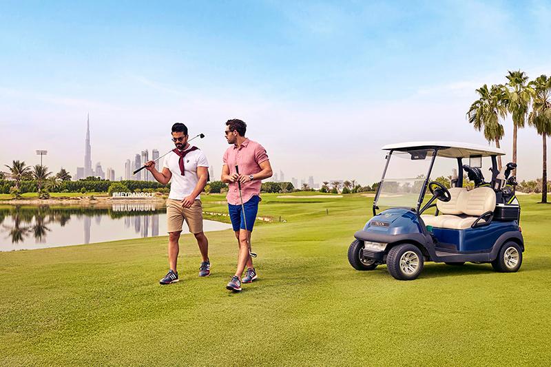 Meydan hotel - golf