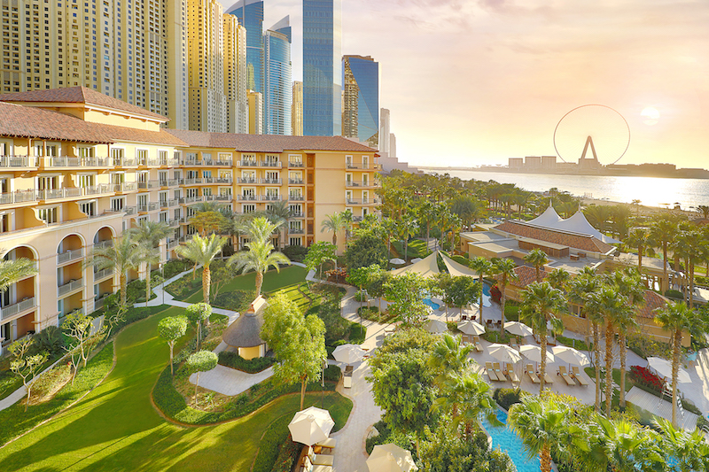 The Ritz-Carlton, Dubai, JBR - Garden Sunset