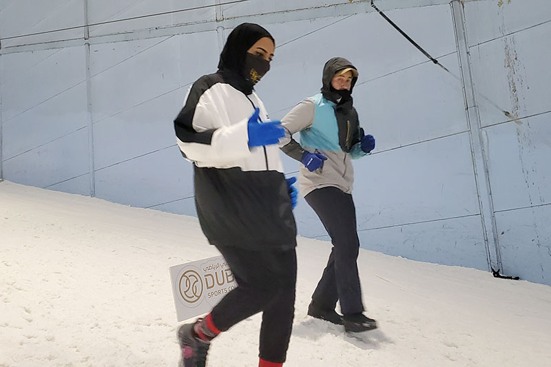 Ski Dubai run