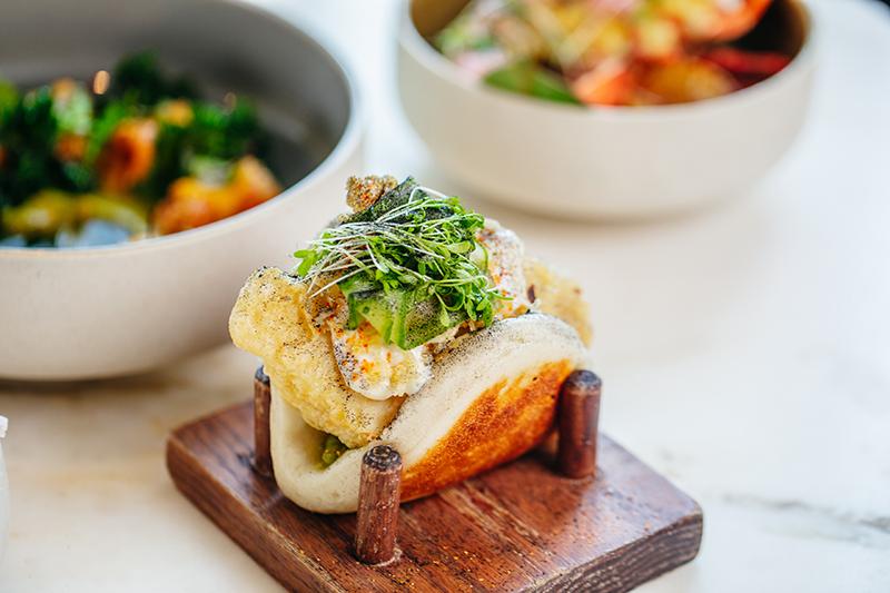 4. BB Social - Sakana Bao with Tempura Butter Fish