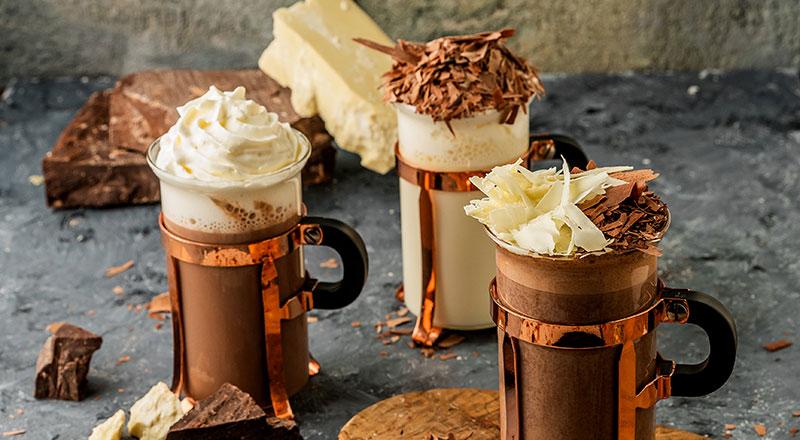 North 28 Hot chocolate