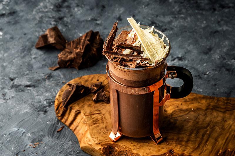 North 28 signature hot chocolate
