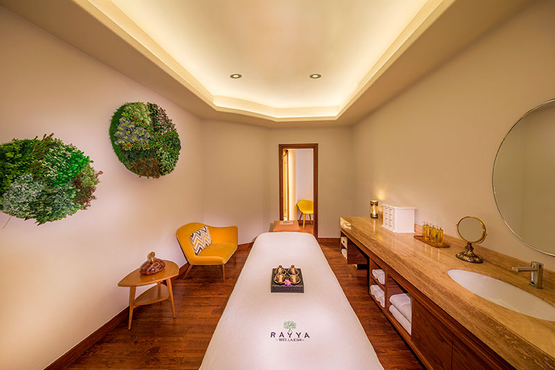 Rayya Wellness Spa Treatment Room