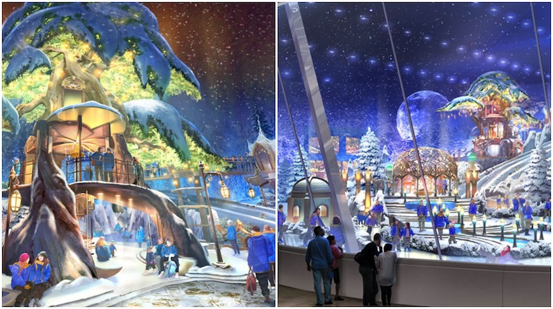 reem mall, snow park abu dhabi, worlds biggest snow park, snow zones uae, where to see snow abu dhabi uae, Snow Abu Dhabi