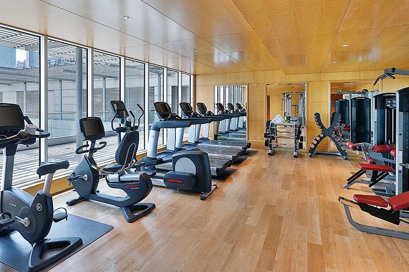 ritz carlton residences gym