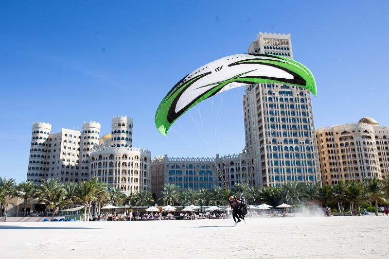 Al Jazirah powered parachute
