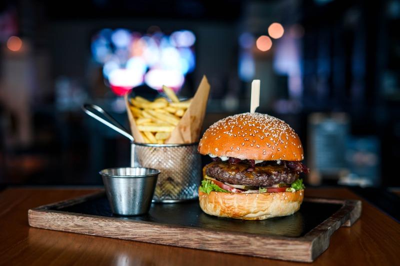 Bridgewater Tavern burger