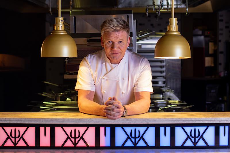 Caesars Palace Bluewaters Dubai - Hell's Kitchen Gordon Ramsay Portrait