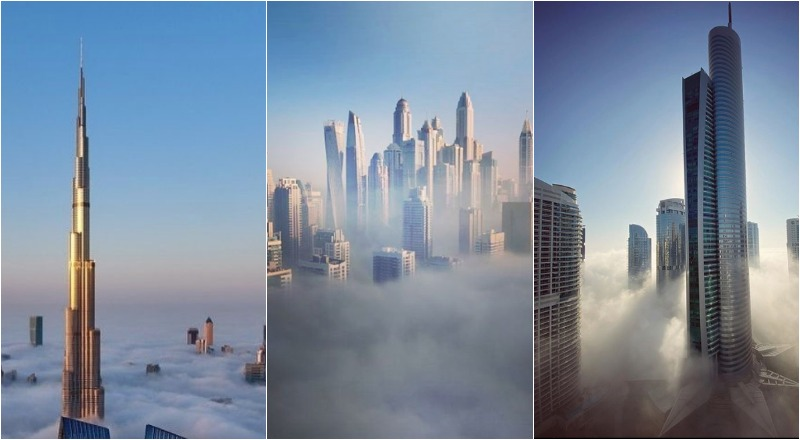 Dubai fog photos