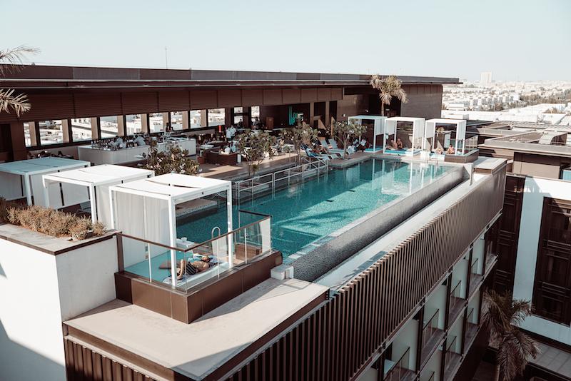 LookUp outdoor bar rooftop pool dubai