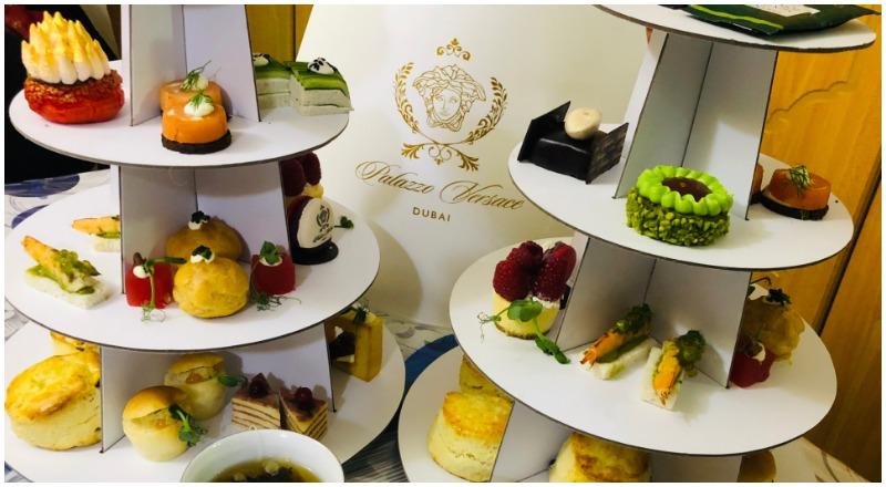 Palazzo Versace high tea