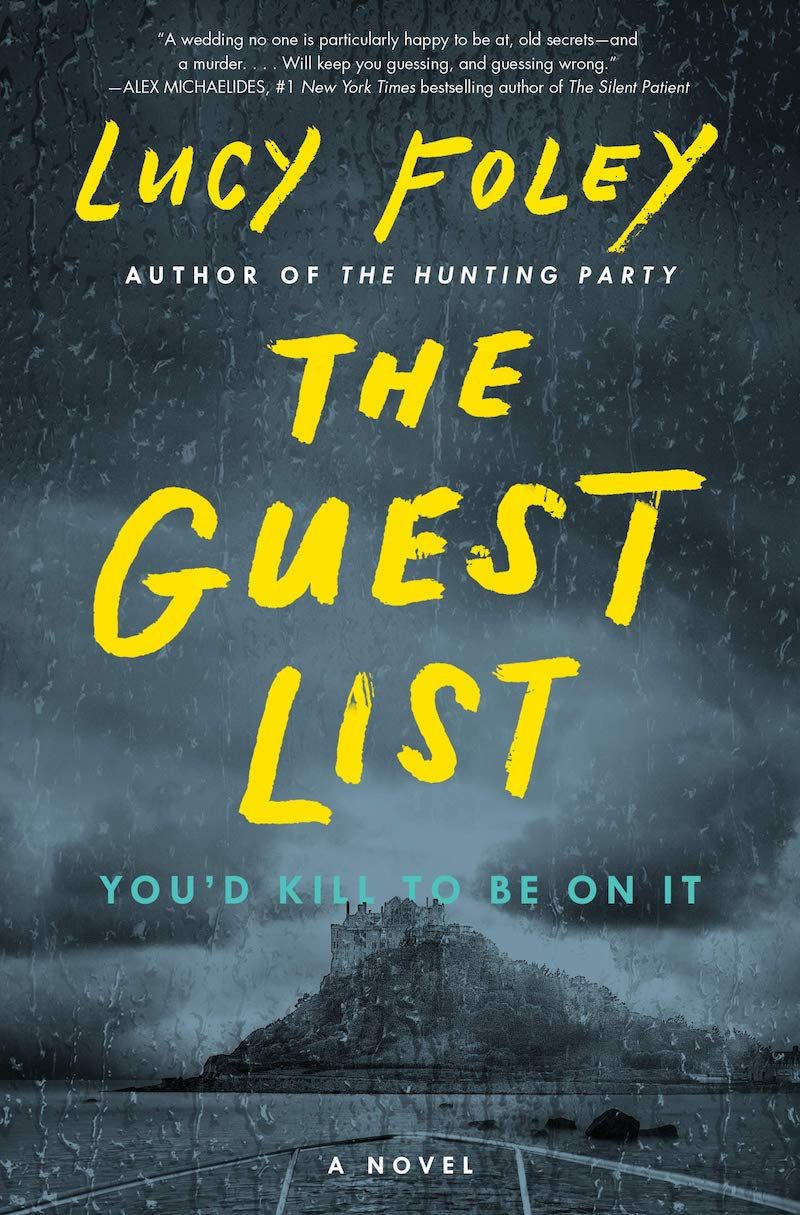 whats on the bookshelf The guest list