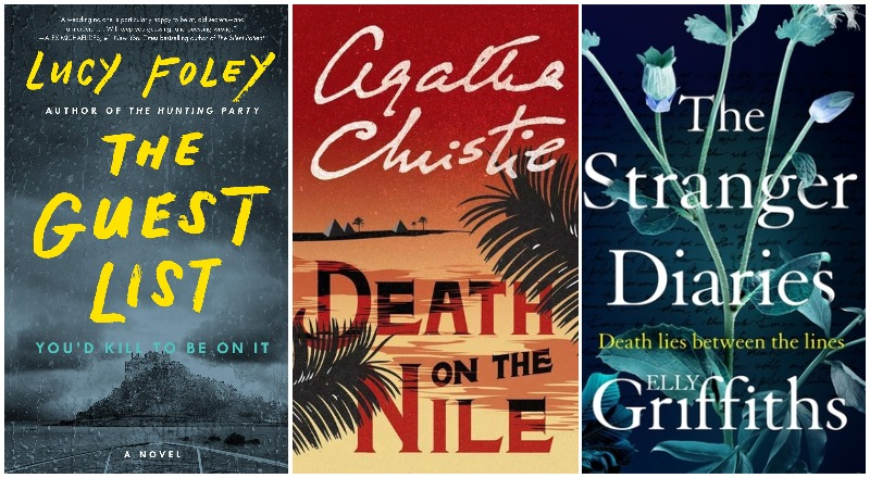 What's on the bookshelf thrillers