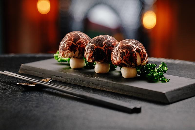 Wild Mushroom & Truffle Bao Hutong