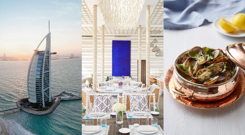sal burj al arab pop up