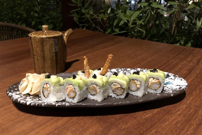 99 sushi dragonfly maki