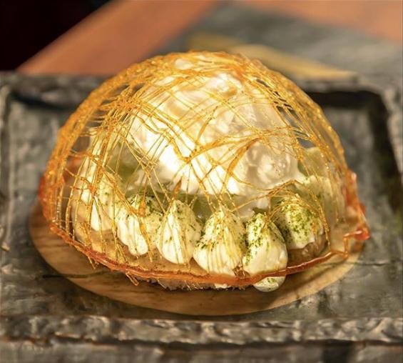 99 sushi dubai yuzu cheesecake