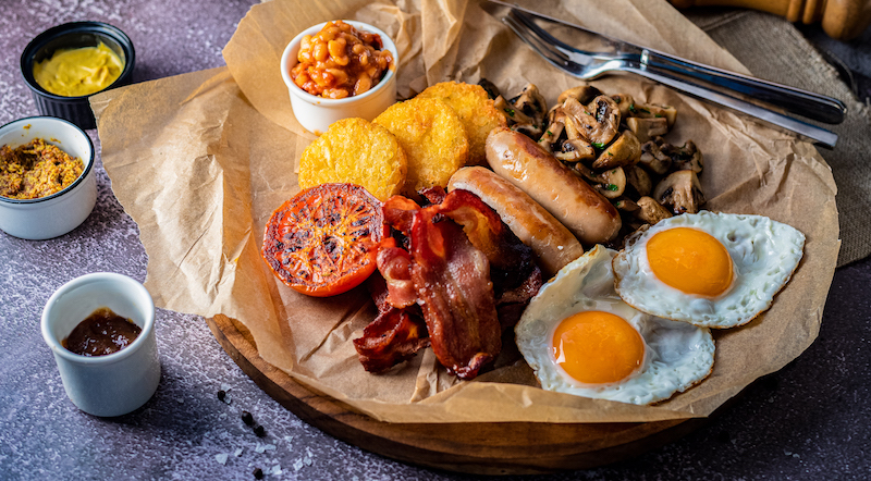 BARASTI full english breakfast