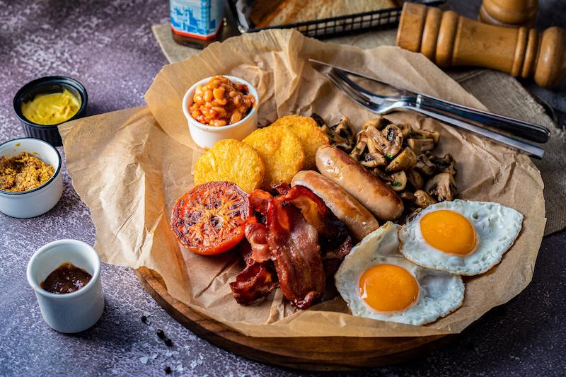 BARASTI full english breakfast