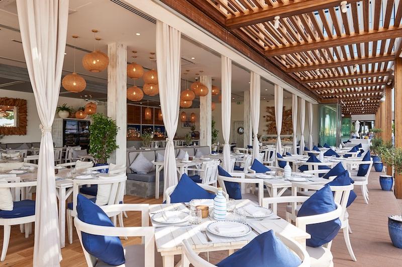 Ammos alfresco restaurant Dubai