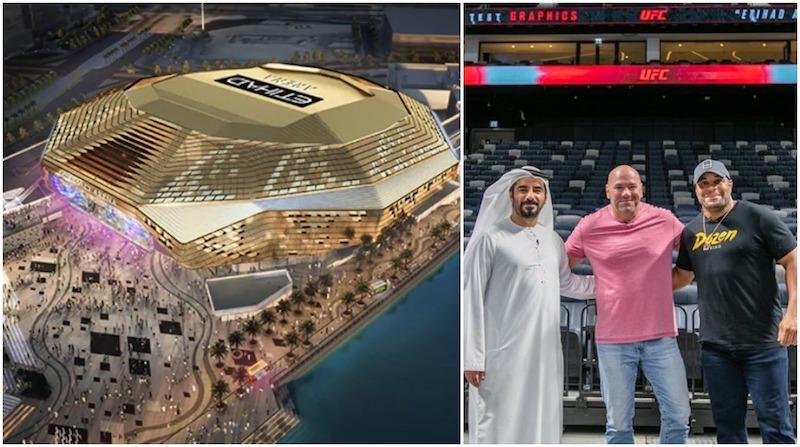 Etihad arena, UFC UAE, UFC ABU DHABI, new project abu dhabi, abu dhabi sports 2021