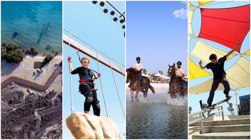 Things to do in Abu Dhabi, active life abu dhabi, exercise abu dhabi, outdoor places abu dhabi, family friendly places abu dhabi, weekend activities abu dhabi, private beaches abu dhabi