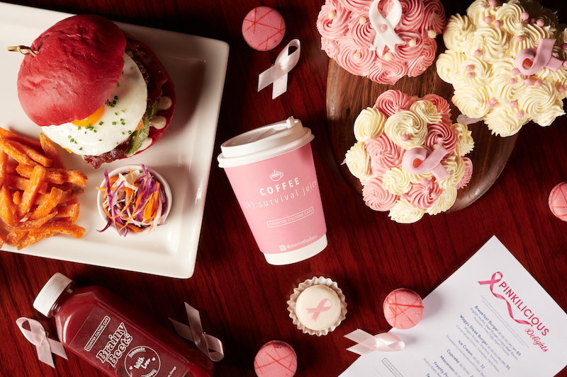 Pink October Menu at Counter Culture Cafe