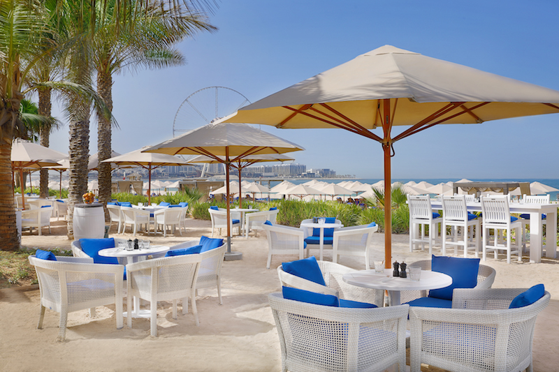The Ritz-Carlton, Dubai, JBR - Palm Grill Al Fresco Dining