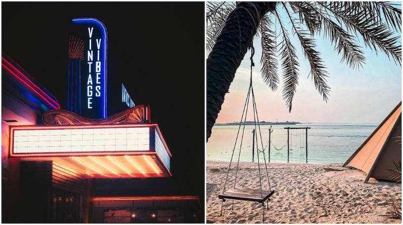 outdoor cinemas abu dhabi, beach cinema abu dhabi, movies outside abu dhabi