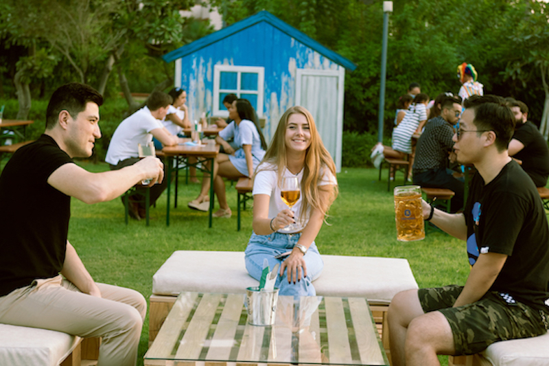 brew garden grand hyatt dubai