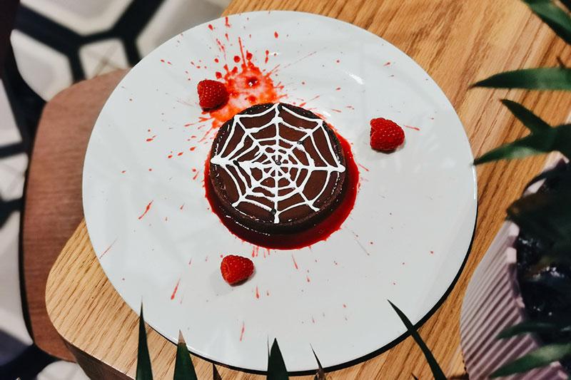Casette Spiderweb Chocolate Tart