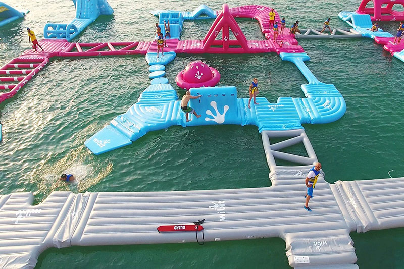 Aqua Challenge dubai fitness challenge