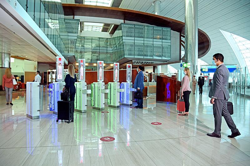 emirates airline biometric system