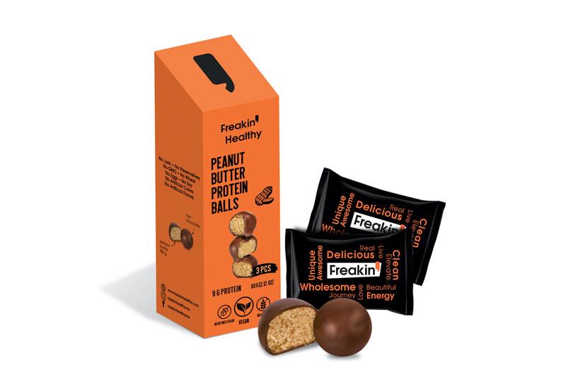 freakin healthy peanutbutter-protein-balls