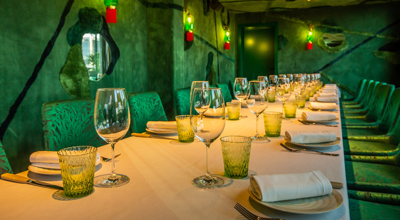 best private dining rooms in dubai