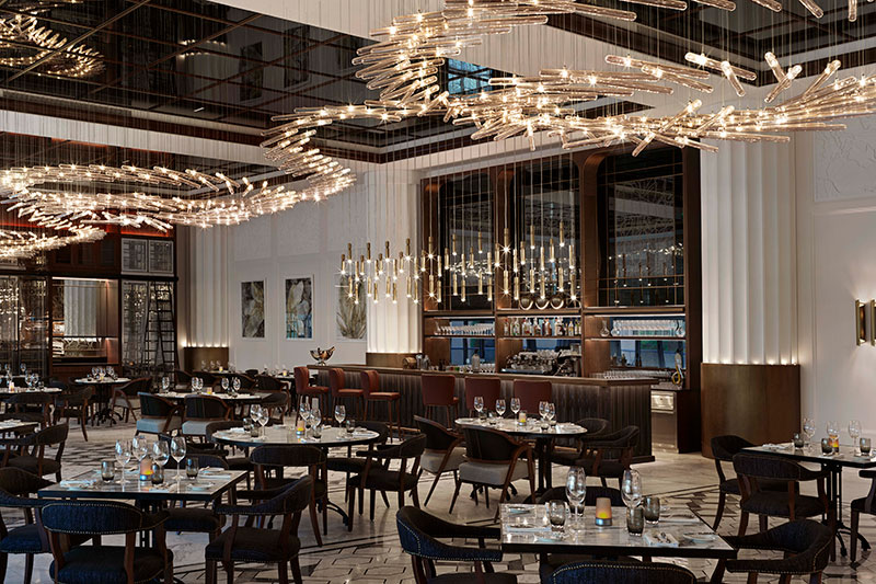 Brasserie Boulud interior