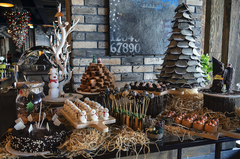 Dubai Christmas Brunch Grand Millennium Business Bay