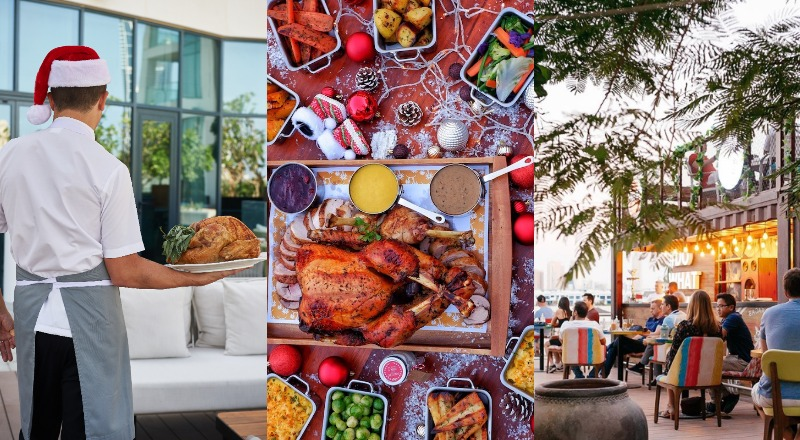 Dubai Christmas Day brunch under Dhs500